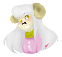 The lovely Lamb by SpaceyJessi