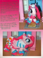 Pinkie Pie Plush by FoxiArtist