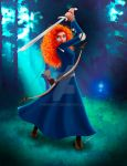 Brave - Merida by Mongoft
