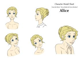 Character Model- Alice by darkflower8923