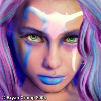 Cosmic Angel close-up view by thebryancrump