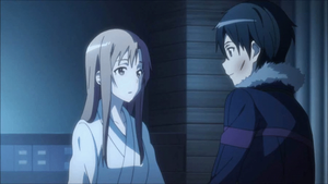 Kirito x Asuna by ShiroJolly