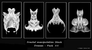 Fractal Stock - Dress Pack XII by rockgem
