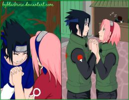 SasuSaku Unbreakable bond by byBlackRose