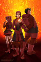 Team Magma by cosmicpants