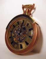 Steampunk Pocket Watch 2 by dravensinferno