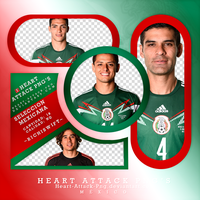 Photopack Png Seleccion Mexicana by Ricardo-Swift22