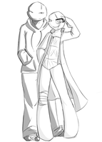 Black and White by HoveringAbout