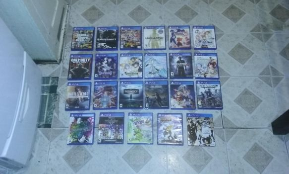 My PS4 Collection V10 by G-Strike251