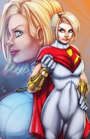 PowerGirl by Jay--Zilla