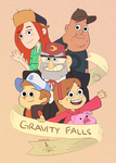 Gravity Falls by aaron-lee