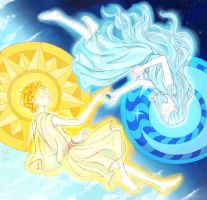 The Sun and the Moon by Juli556