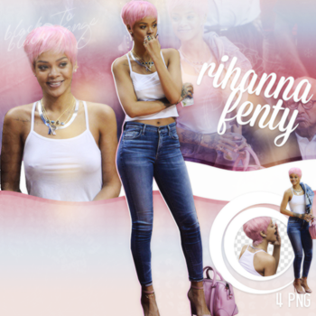 PNG Pack(277) Rihanna by BeautyForeverr