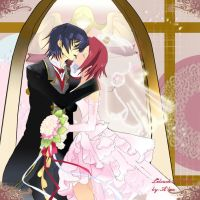 Lelouch x Kallen by the-crimsonlotus