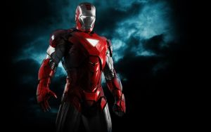 Iron Man Silver Centurion by 666Darks