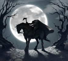 The Headless Horseman by Kanyn