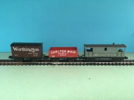 N Gauge Rolling Stock - Van, Truck, Brake Van by JennyRichardBlakina