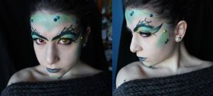 Dragon Makeup by SelyaMakeup