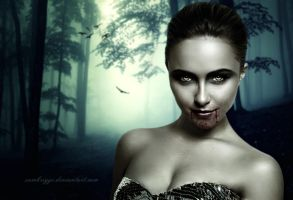 Hayden Panettiere Vampire (Request) by SamBriggs