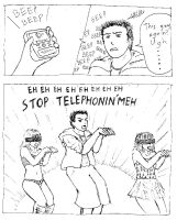 College - Telephone by 2Unkown2Know