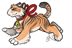 Tiger Baby by Klngsley