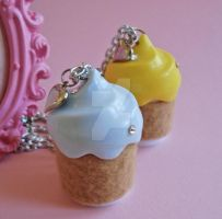 Cupcake Lipgloss Necklaces 3 by FatallyFeminine