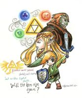 LoZ Wind Waker - A New Hero- by WingJourneys