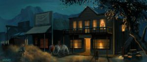 Old West Hotel concept by whatyoumaydo