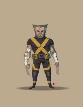 Old Man Logan by darrenrawlings