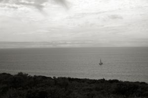 Boat on the Shore by FellowPhotographer