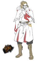 Anders: White Mage by minktee