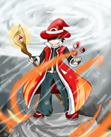 Red the Sorcerer by Xero-J