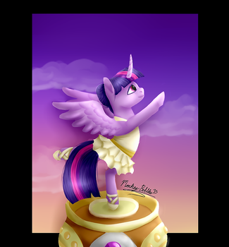 A Poised Princess by MonkeyBubbles35