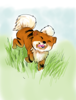 Growlithe for Julie by 9tails9