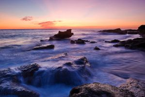 Rocks and Ocean by PictureElement