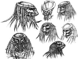 Predator Portraits I by ButtZilla