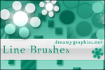 Line Brushes For Gimp by inge123