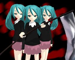MMD Please Die Quietly by Ilovedrawin