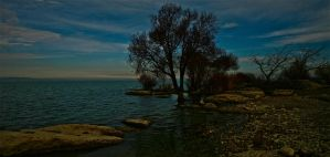 Rocky Shores of Forgotten Land by Hermetic-Wings