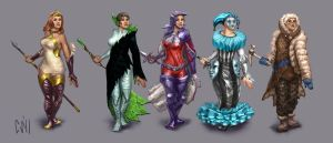 Costume Designs by CBSorgeArtworks