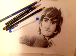 Hiccup from HTTYD 2 by Rosekie