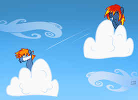 Cloudball Fight by MioAis