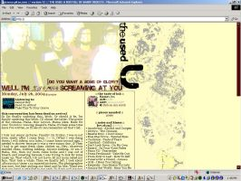 The Used Layout by xnouseforanamex
