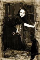 The wrong key in sepia by rustymermaid