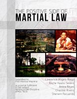 The Positive Side of Martial Law by darkchronix95