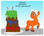 Happy B-Day ROBCakeran53! by Stepany1234
