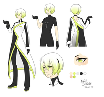 :UTAU:KUBI:SHUNE:Reference:Sheet: by KaiSuki