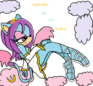 aphrodite the cat goddess