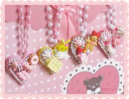 Decoden necklaces 2. by decoland