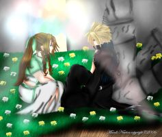 Andi Cloud inAerith's Church by SassyLilPanda